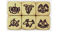 Pet Dice (dog, cats, rabbit, fish, bitd, pider)