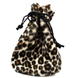 Leopardskin pouch 110x150 mm.