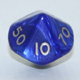 Polydice 10 sides Pearl (00-90)