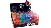 Display 20 sets 7 polydices rol