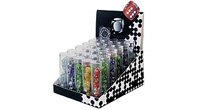 Display for 30 mini dice tubes interferenz