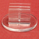 Clear plastic Card Stands 20 C