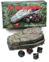 Sarcophagus with 10 Vampires Dice